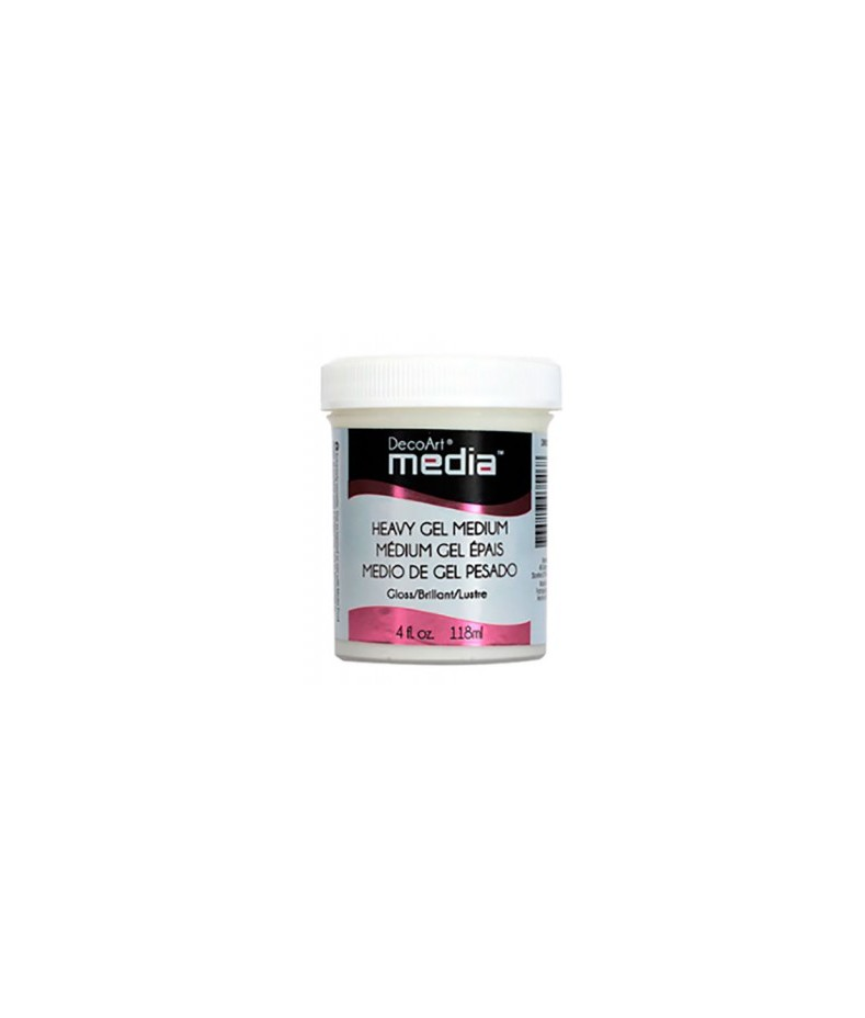 Medium żelowe ciężkie DecoArt Heavy Gel Medium DMM33