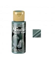 Farba metaliczna Dazzling Metallics, Dark Patina - szmaragdowa, 59 ml DA248