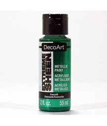 Farba metaliczna Extreme Sheen DecoArt DPM22 szmaragdowo zielona
