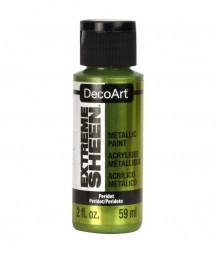 Farba metaliczna Extreme Sheen DecoArt DPM21 zielona oliwkowa