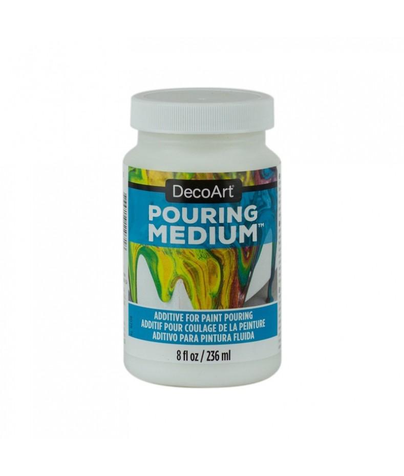 DecoArt Pouring Medium do fluid painting 236 ml DS135,