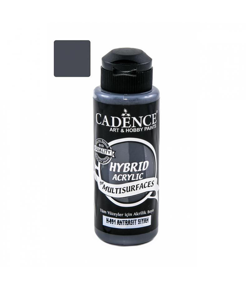 Farba hybrydowa Cadence, czarny antracyt