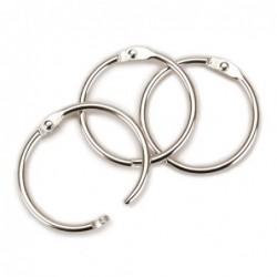 Pierścień do albumów - 1 cal - srebrny