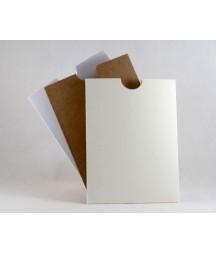 Kieszonka na tekst - do albumu, biała 10.5x14