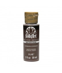 Farba akrylowa brązowa - bark brown Plaid 59 ml