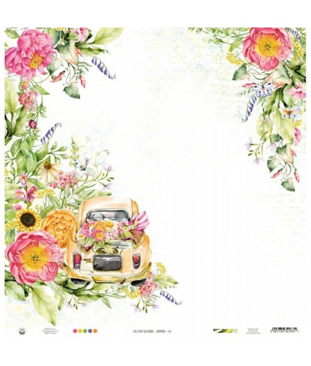 Papier do scrapbookingu P13, The Four Seasons Summer 04