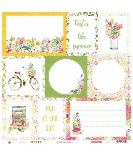 Papier do scrapbookingu P13, The Four Seasons Summer 05