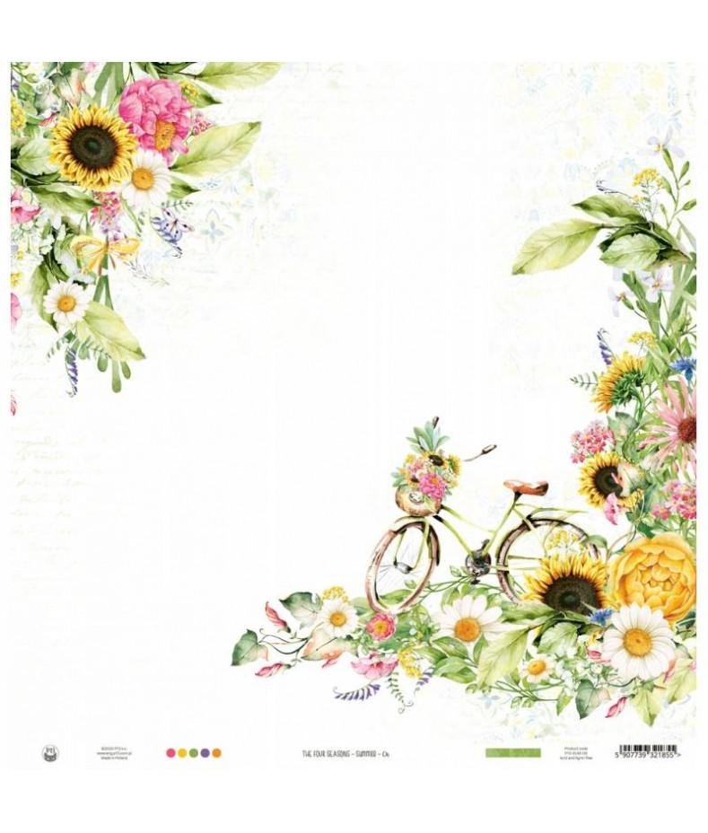 Papier do scrapbookingu P13, The Four Seasons Summer 06