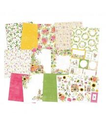 Zestaw papierów do scrapbookingu 15.2x15.2 cm, The Four Seasons - Summer P13