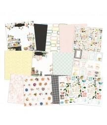 Zestaw papierów do scrapbookingu 30.5x30.5 cm, Around the table P13