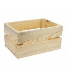 Skrzynka na owoce mała - pojemnik drewniany