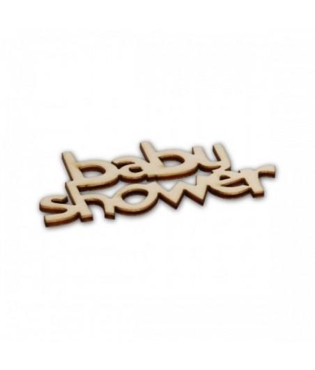 Napis ze sklejki, Baby Shower ND527