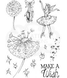 Stemple akrylowe Pink Ink Design's Dandelion ballet PI066