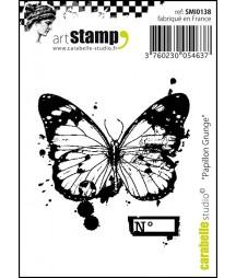 Stempel gumowy Carabelle Studio Papillon Grunge