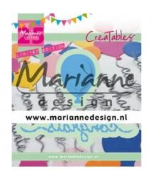 Wykrojniki Marianne Design, LR0626 Baloniki