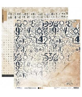 Papier do scrapbookingu Studio Light 12x12, Ultimate Scrap SCRAPUS01