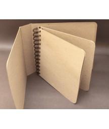 Baza albumowa - okładka z zaokrąglonymi rogami, kolor kraft