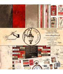 Zestaw papierów do scrapbookingu UHK Gallery, Art Journal 30,5x30,5
