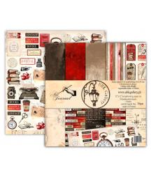 Zestaw papierów do scrapbookingu 12x12, Art Journal UHK Gallery