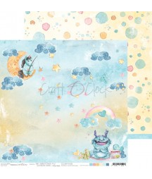 Papier do scrapbookingu The Sweetsters 02 Craft O'Clock