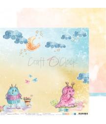 Papier do scrapbookingu The Sweetsters 04 Craft O'Clock
