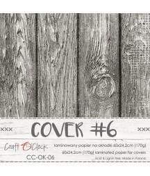 Okładka powlekana nr 6 60x24.2 cm Craft O'Clock - do albumów lub notesów