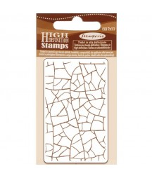 Stempel kauczukowy Stamperia WTKCC183, Spękania - crackle