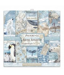 Papiery do scrapbookingu, Arctic Antarctic SBBL77 Stamperia - bloczek