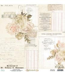 Papier do scrapbookingu Mintay Papers 12x12, Homemade 04 przód
