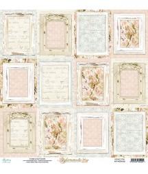 Papier do scrapbookingu 12x12, Homemade 06 Mintay Papers - PRZEDSPRZEDAŻ