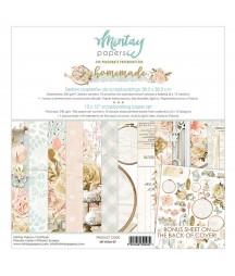 Zestaw papierów do scrapbookingu 30x30 Homemade - Mintay Papers