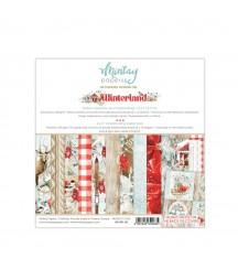 Bloczek do scrappbokingu 15x15 cm, Winterland - Mintay Papers