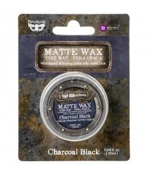 Pasta woskowa, Finnabair Art Alchemy Matte Wax, Charcoal Black, 20 ml