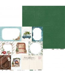 Papier do scrapbookingu P13, The Four Seasons Winter 05
