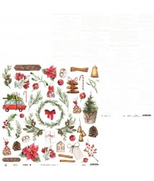 Papier do scrapbookingu P13, The Four Seasons Winter 07