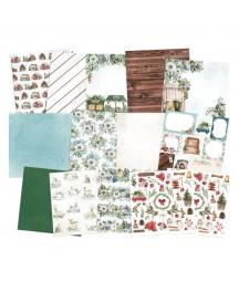 Zestaw papierów do scrapbookingu 30.5x30.5 cm, The Four Seasons - Winter P13