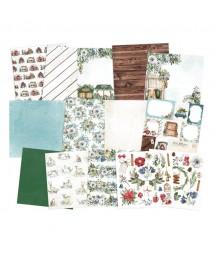Zestaw papierów do scrapbookingu 15.2x15.2 cm, The Four Seasons - Winter P13
