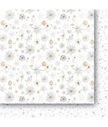 Białe Jak Śnieg 02 - papier do scrapbookingu od Galerii Papieru / Paper Heaven