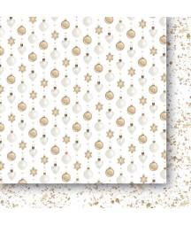 Białe Jak Śnieg 03 - papier do scrapbookingu od Galerii Papieru / Paper Heaven