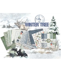 Zestaw papierów do scrapbookingu UHK Gallery, Winter Tree 30,5x30,5