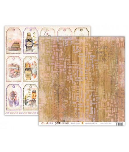 Papier do scrapbookingu UHK Gallery, Ginger Girl - Impressions