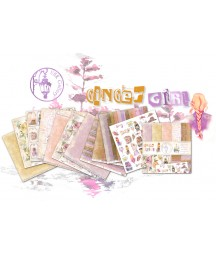 Zestaw papierów do scrapbookingu UHK Gallery, Ginger Girl 30,5x30,5