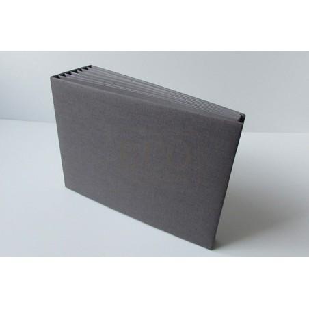 Baza albumowa 16x21.7, BAZYL- szary, 6 kart [Eco Scrap]