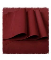 Foamiran irański ciemny czerwony