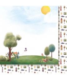 Za Siedmioma Górami 03 - papier do scrapbookingu od Galerii Papieru / Paper Heaven
