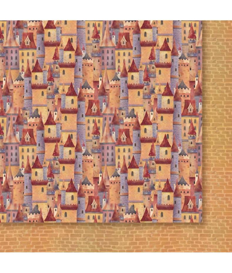 Za Siedmioma Górami 05 - papier do scrapbookingu od Galerii Papieru / Paper Heaven