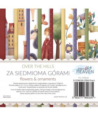 Zestaw papierów do scrapbookingu Za Siedmioma Górami - dodatki - Paper Heaven