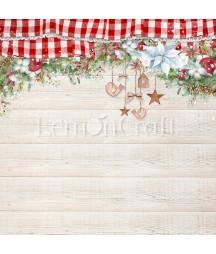 Papier do scrapbookingu 30x30 cm, This Christmas 03 - Lemoncraft