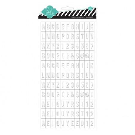 Alfabet  samoprzylepny, Color Magic Letterbox Alpha [HS-00687]
