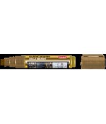 Marker kredowy z końcówką 5x8 mm, złoty - Toma TO-291